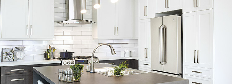 Thinking Of Renovating Your Kitchen? Create Your Ideal Kitchen With Ronau0027s  Selection Of Kitchen Cabinets And Countertops, Sinks, Faucets, Range Hoods  And ...