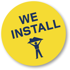 We install