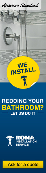 RONA | renovate installation Bathroom
