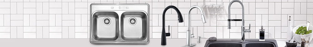 Save on pull-out kitchen faucets and BLANCO kitchen sinks