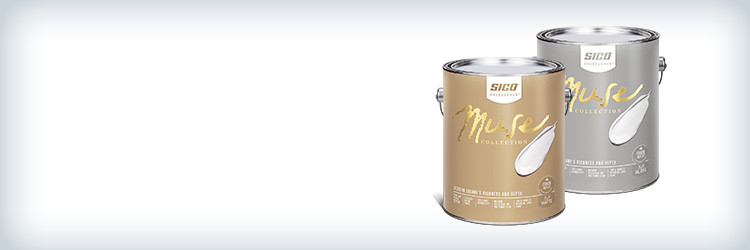 Until October 24 - $48.99 ea. on ALL 3,78-L cans of SICO Muse interior paint and primer in one