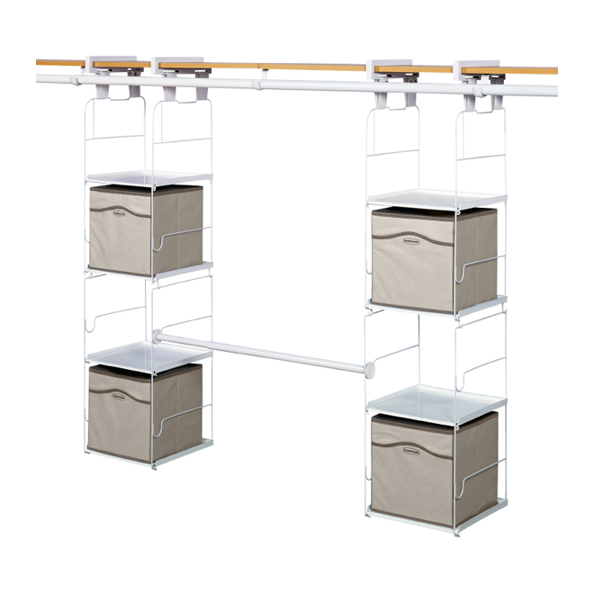 Max Add On Closet Organizer
