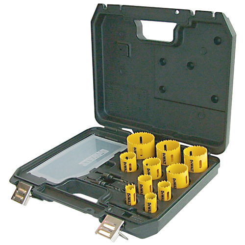 Hole Saw and Mandrel Kit - 13-Pieces