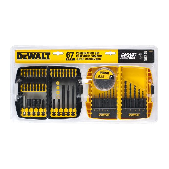 67-piece Bits and Drill Bits Set