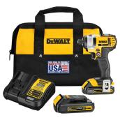 Impact Driver Kit - Lithium Ion - 1/4