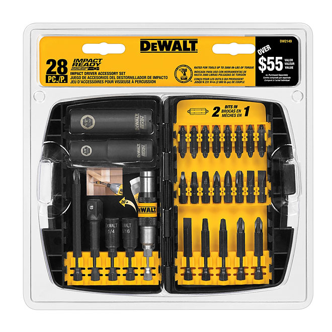 Impact driver accessory set