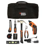 Cordless Screwdriver Kit with Accessories