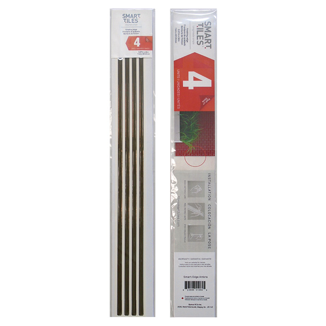 Self-Adhesive Finishing Edge - Bronze - 4 pack