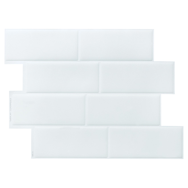 Self-Adhesive Wall Tile - Metro Blanco - 6-Pack