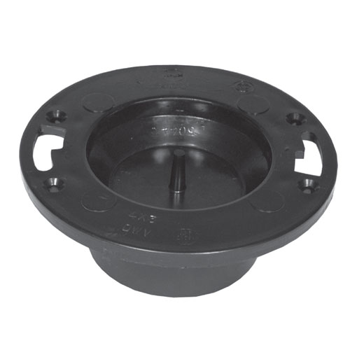 ABS Adjustable Fitted Toilet Flange
