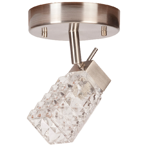 """Lux"" 1-light ceiling fixture"