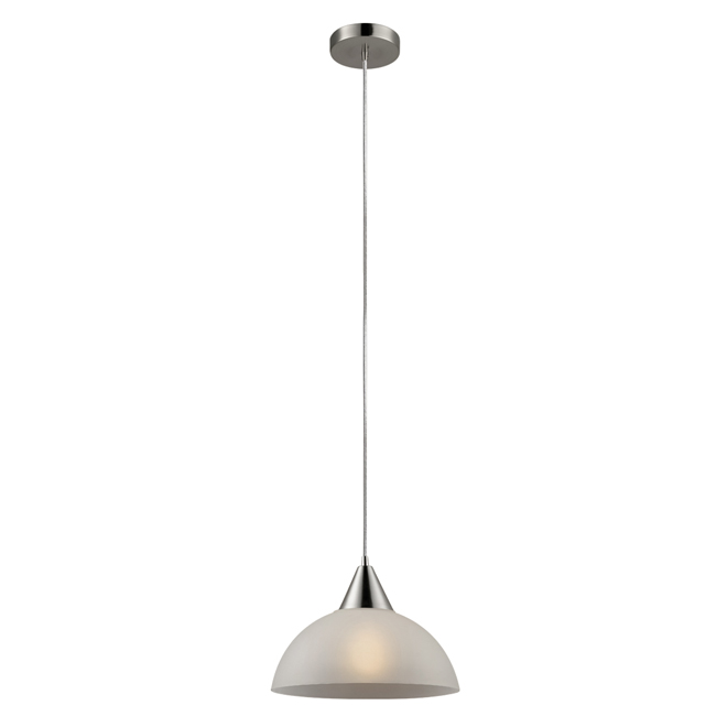 1-Light Plug-In Pendant Light - 15'