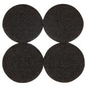 Self-Adhesive Felt Pads - Eco - Round - Black - 1 7/8