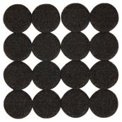 Self-Adhesive Felt Pads - Eco - Round - Black - 1
