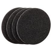 Self-Adhesive Felt Pads - Eco - Round - Black - 3
