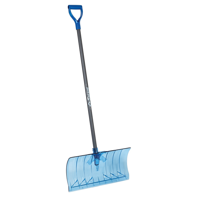 "Snow Pusher - Polycarbonate - 21"" - Blue/Grey"