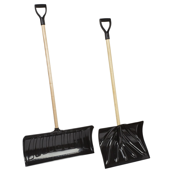 Shovel and Snow Pusher Combo