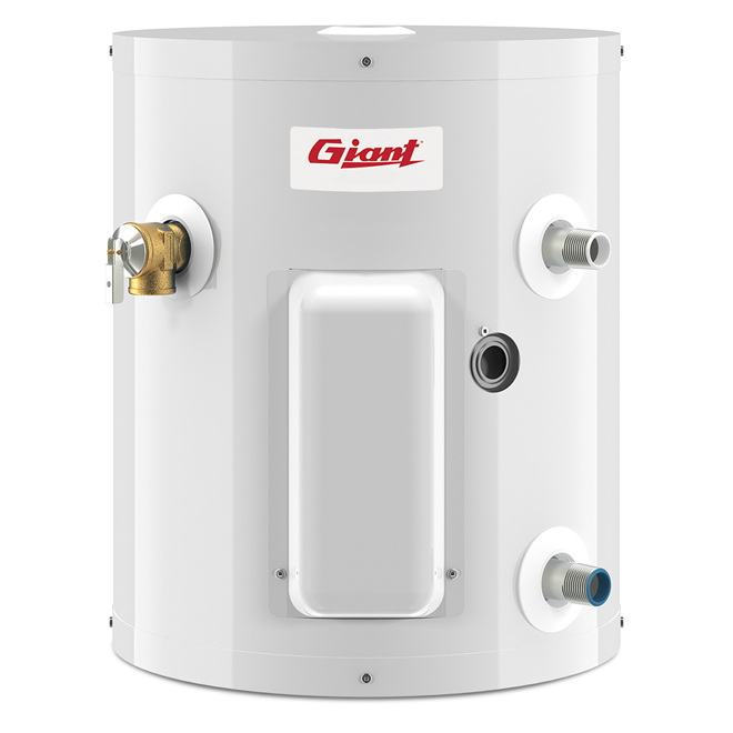 Electric Water Heater 5 Gal - 3000 W - White
