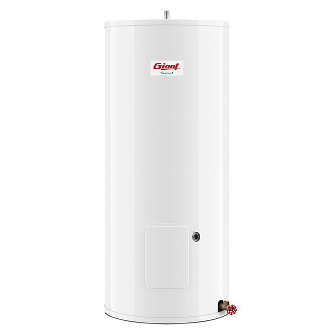 Electric Water Heater 22 Gal - White