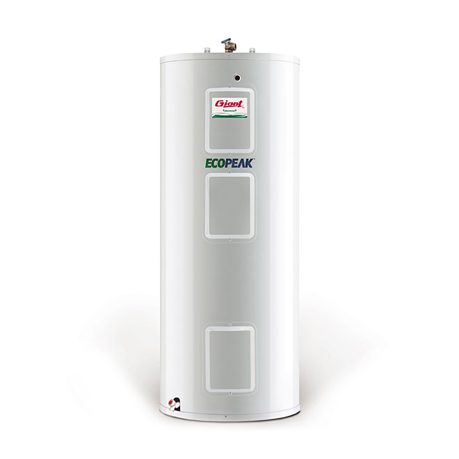 electric water heater 60 gal 800 w 3000 w 3800 w white rona. Black Bedroom Furniture Sets. Home Design Ideas