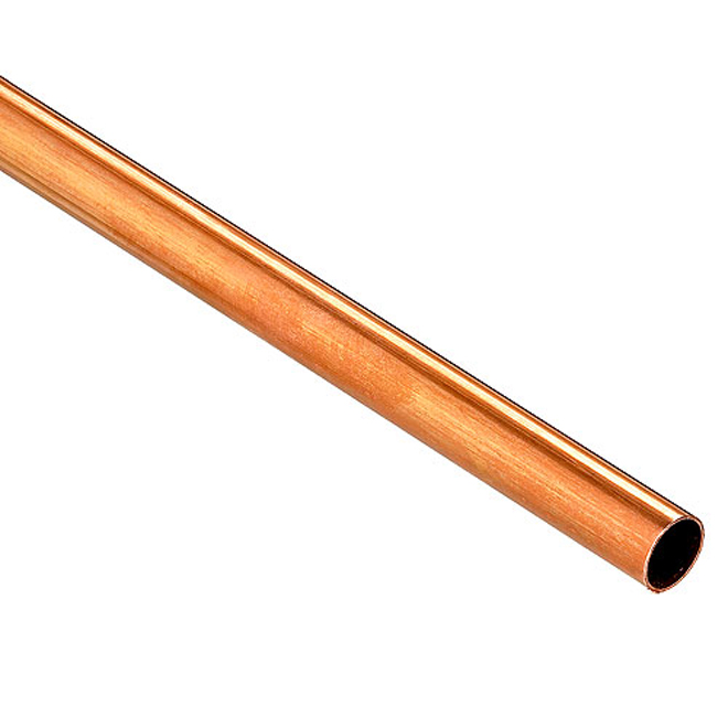 "3/4"" x 3' M-Type Copper Pipe Hot and Cold Water"
