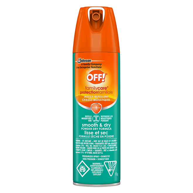 Smooth And Dry Insect Repellent