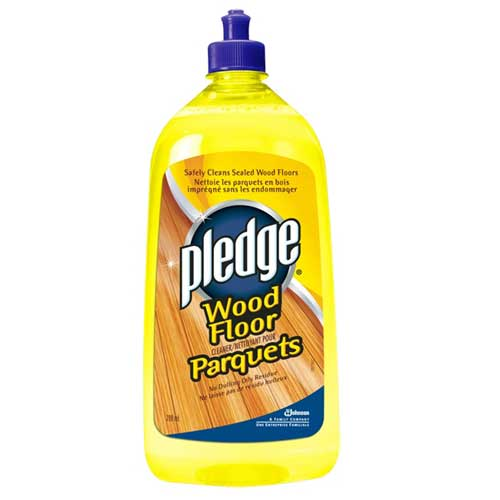 pledge hardwood floor cleaner