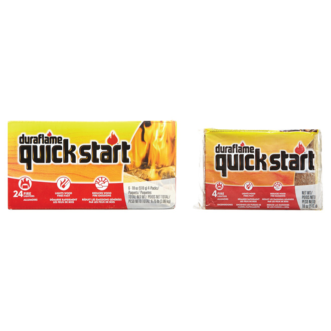 Quick Start Fire Starter - Pack of 24