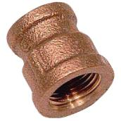Reducer Coupling - Brass - 3/4