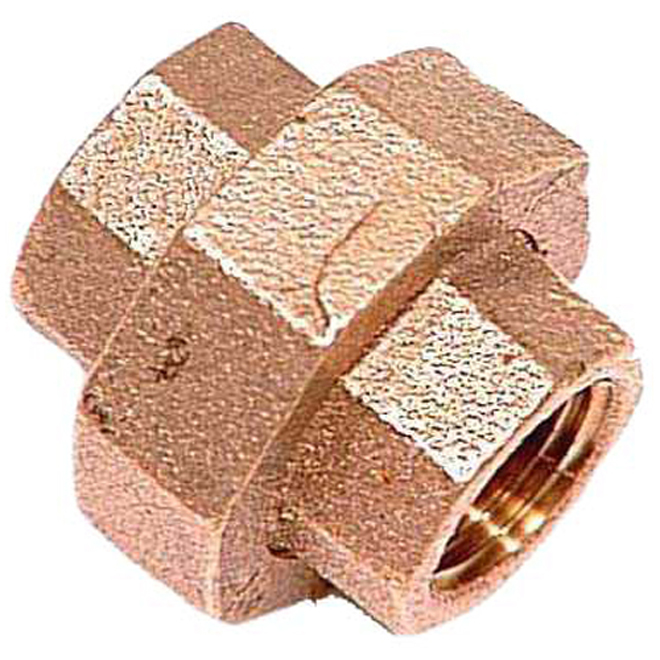 "Union - Brass - 3/4"" x 3/4"" - FIP x FIP"