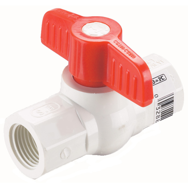Pvc Straight Ball Valve Rona