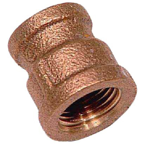 "Reducer Coupling - Lead-Free Brass - 1"" x 1/2"" - FIP x FIP"