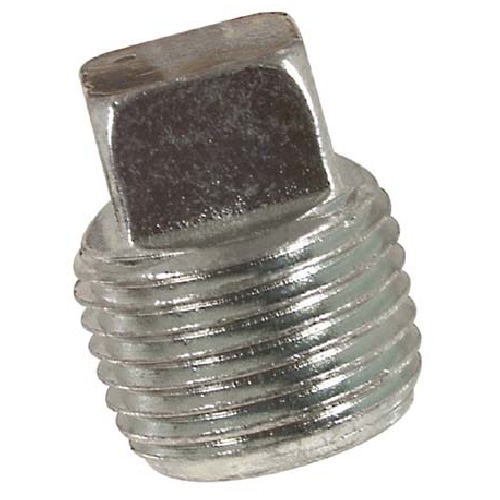 Galvanized Square Head Plug