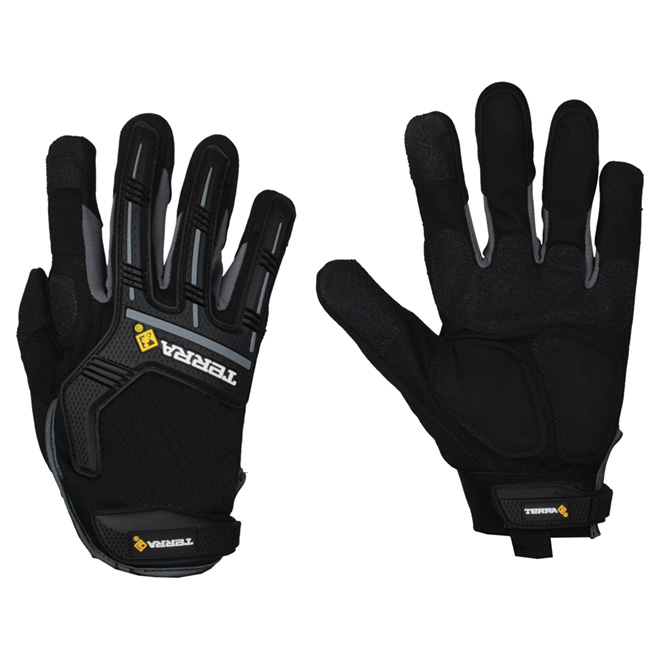 Mechanic Gloves made of Synthetic Leather - X-Large