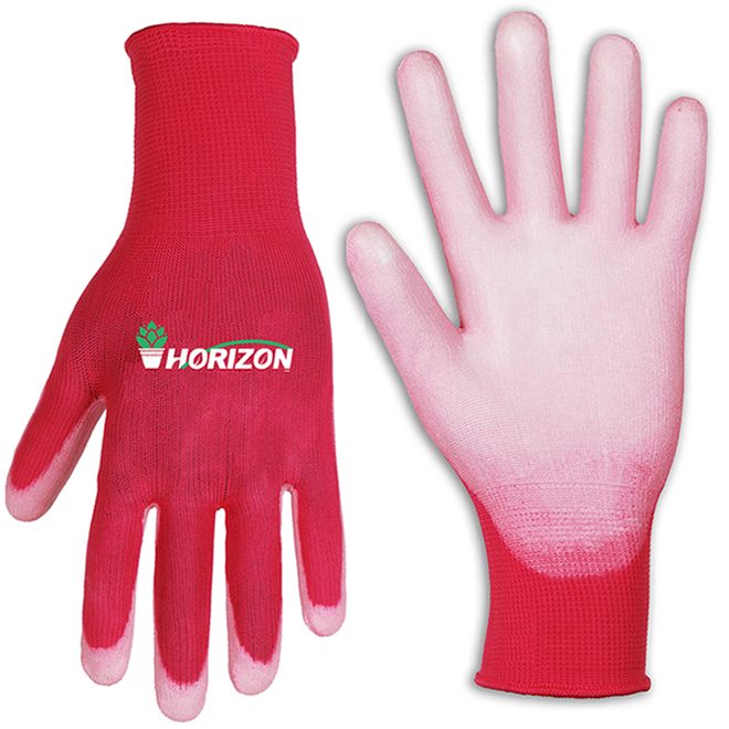 Gardening gloves for women - S/M - Polyurethane - Pink