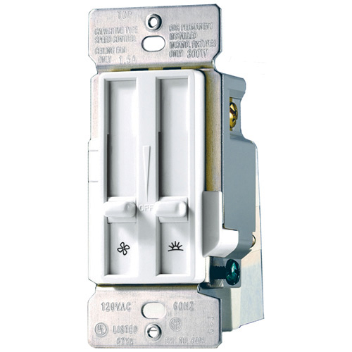 Fan and control dimmer