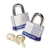 Steel Padlock - Pack of 2
