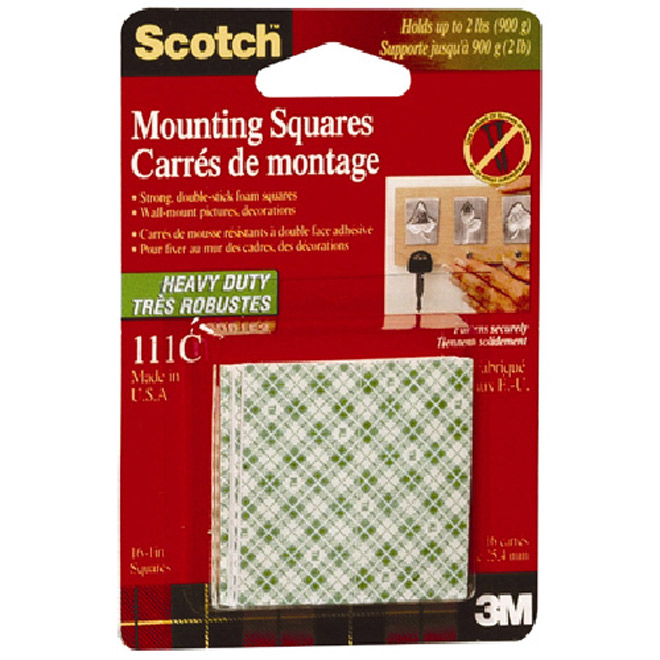 Double-Face Mounting Squares
