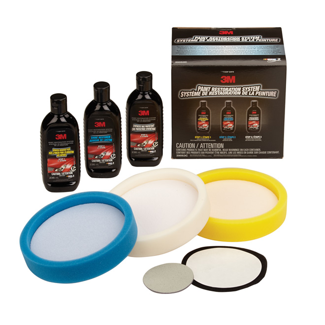 Car Paint Finish Restoration Kit