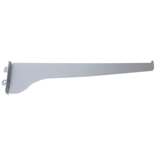 "Steel Single Shelf Bracket - 16"" - Titanium"