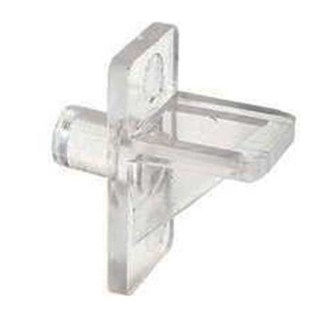 "Plastic Shelf Bracket - 1/4"" - 12-Pack"
