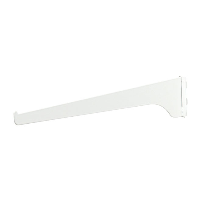 "Steel Shelf Bracket - 16"" - White"