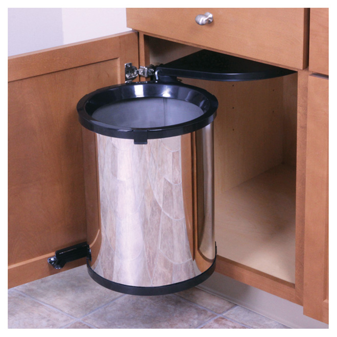 Cabinet Swing Out Garbage Can Rona