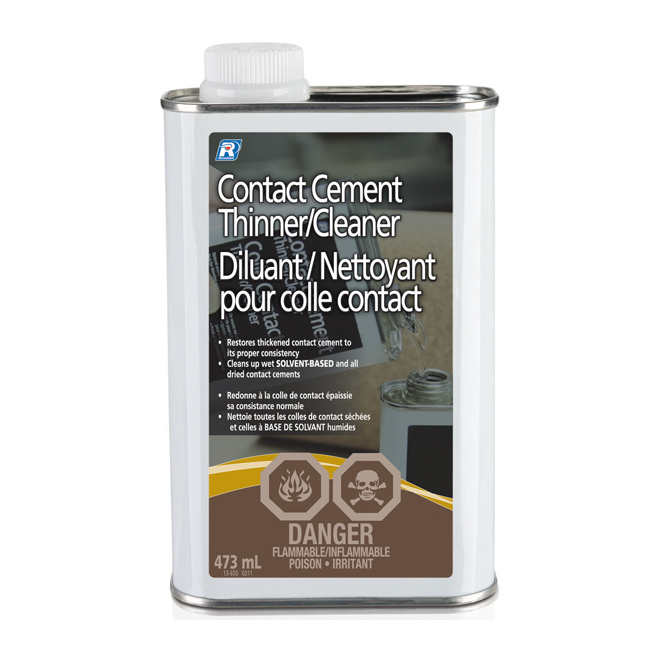 Contact Cement Thinner and Cleaner - 473 mL