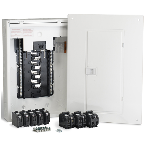 100A/16 Spaces/32 Circuits HomeLine Retrofit Panel Package
