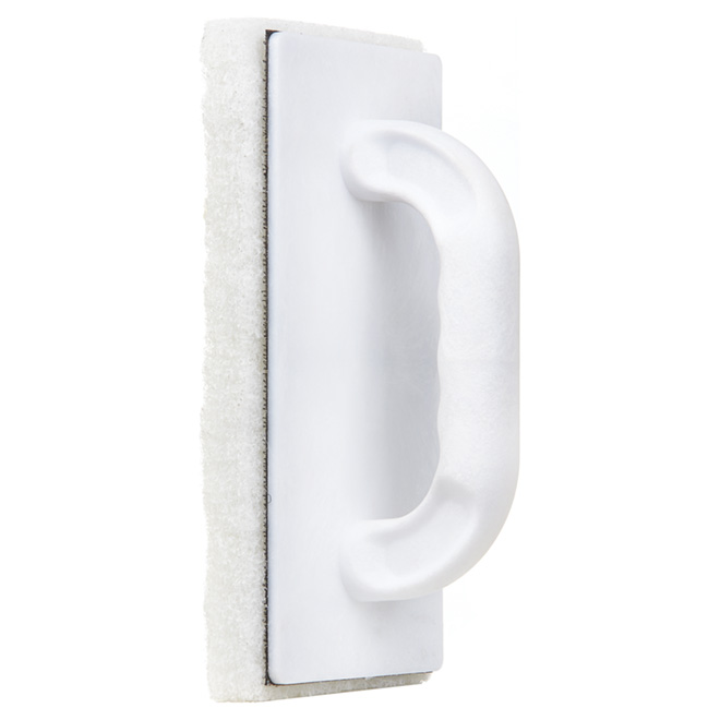 "Scrubbing Pad with Handle - 9"" x 3 1/4"""