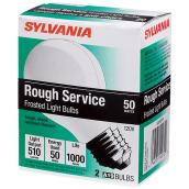 A19 rough service bulbs
