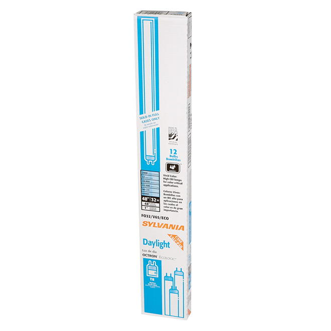 """OCTRON ECOLOGIC"" 32W Fluorescent T8- 48"" -12-Pack"
