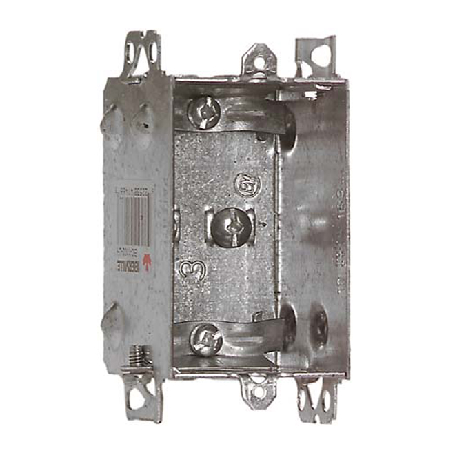 Rectangular Box with Internal Clamps