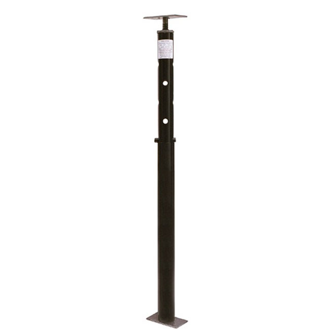 adjustable 6 to 9 post for steel and wood beams rona